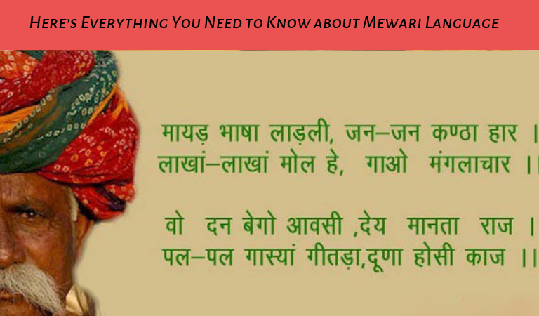 Here's Everything You Need to Know about Mewari Language