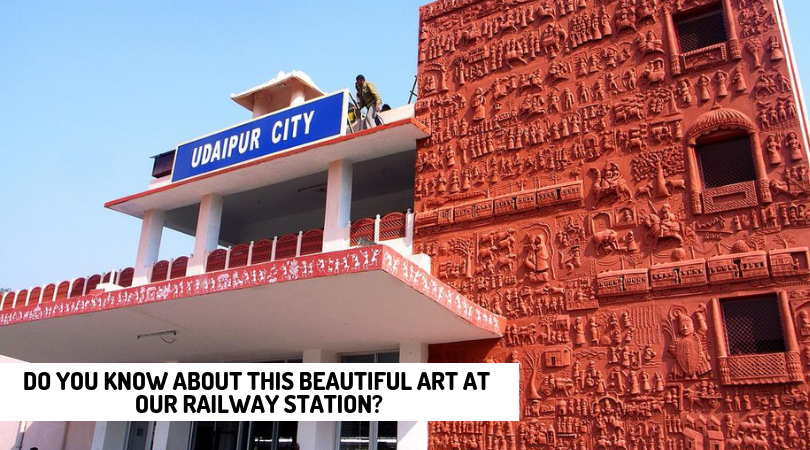 Do You Know About this Beautiful Art at our Railway Station?