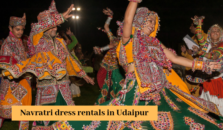 Navratri dress rentals in Udaipur