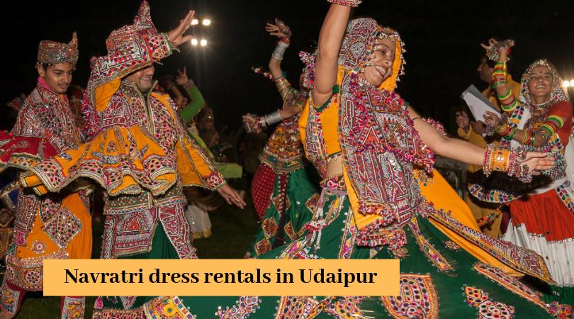Navratri dress rentals in Udaipur