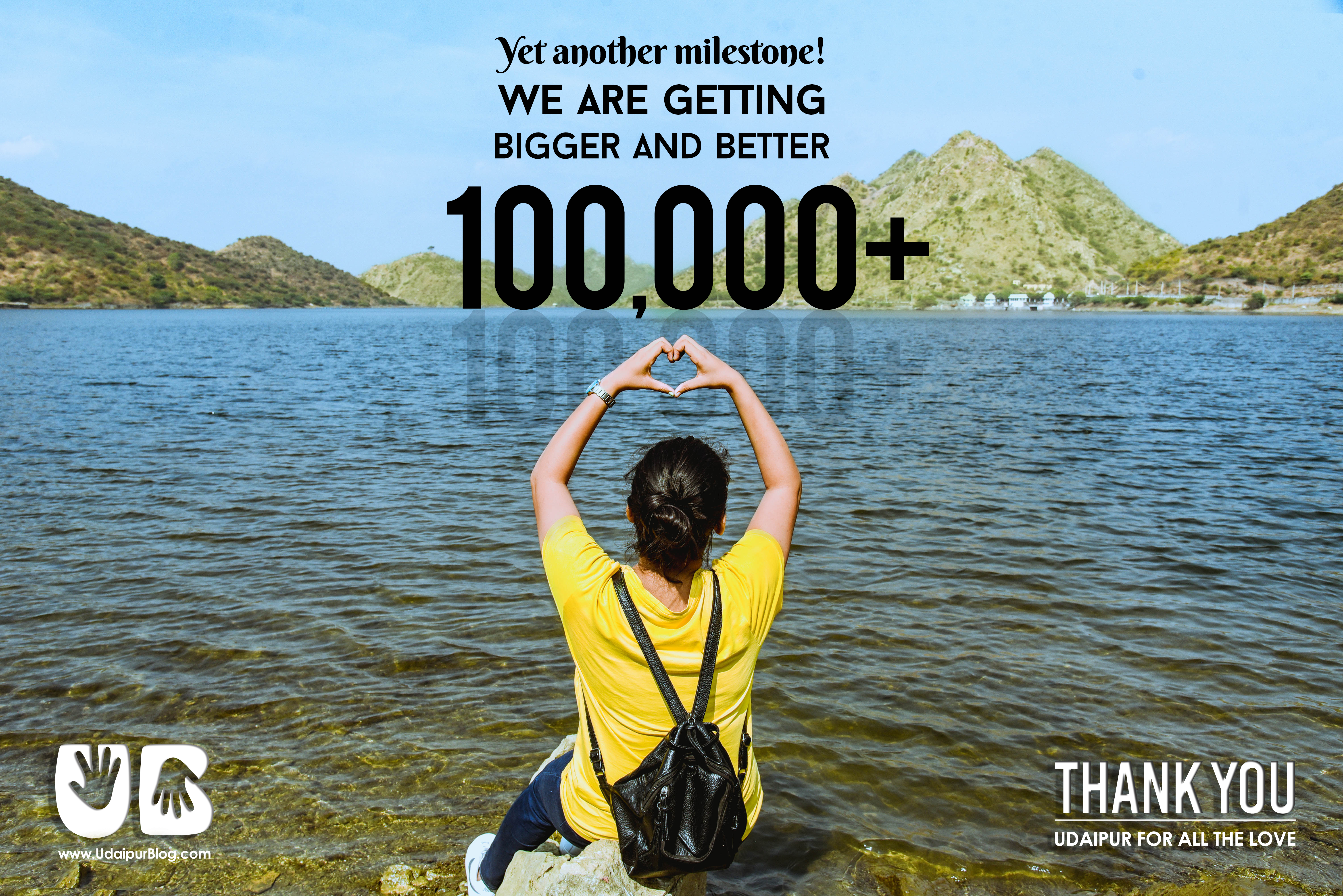 100,000+ Followers! UdaipurBlog reaches yet another milestone | Journey so far