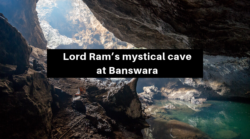 Lord Ram's mystical cave at Banswara!