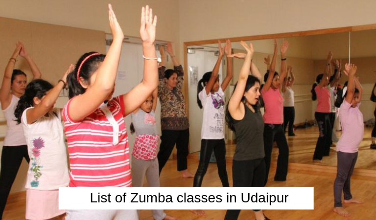 List of Zumba classes in Udaipur