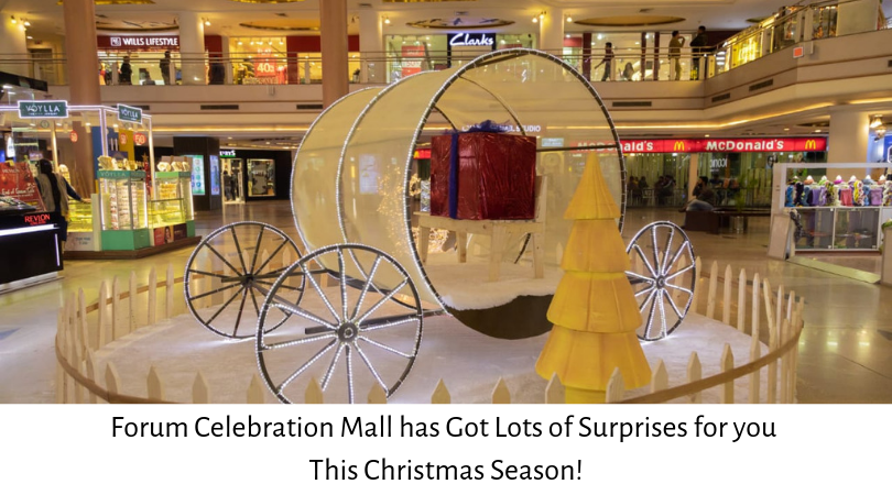 Forum Celebration Mall has Got Lots of Surprises for you This Christmas Season!