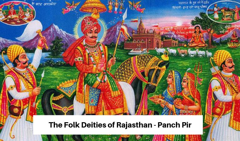 Folk Deities of Rajasthan – Panch Pir