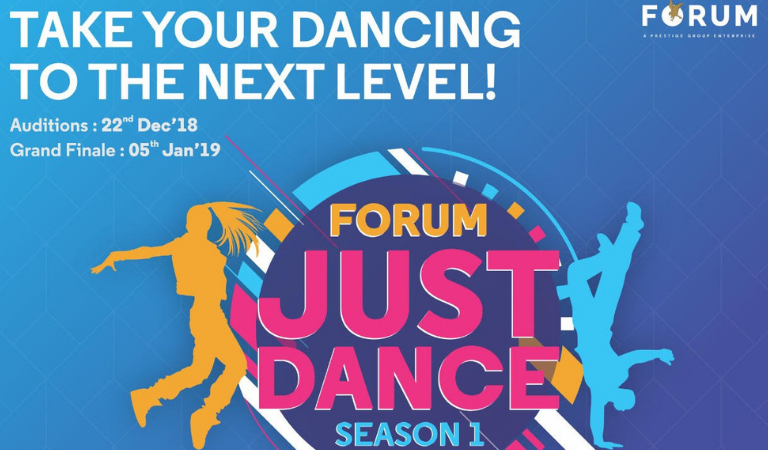 'Forum Just Dance' by Forum Celebration Mall for All the Dance Enthusiasts