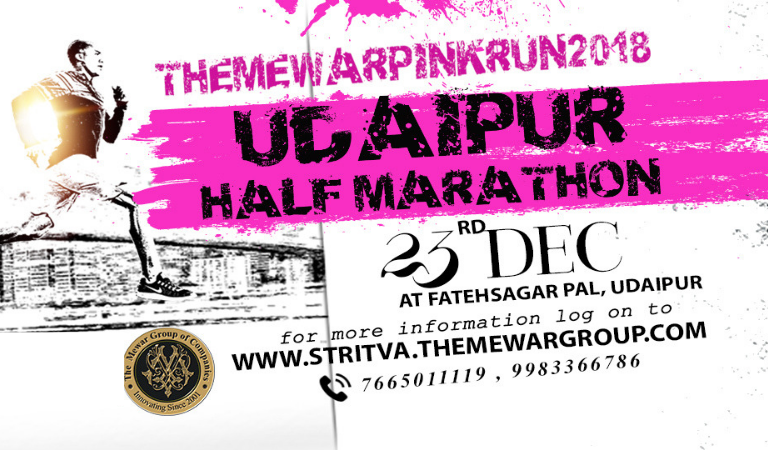 Mewar Pink Run 2018 Marathon in Udaipur to Raise Awareness about Cancer