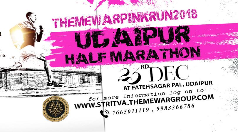Mewar Pink Run 2018 Marathon in Udaipur to Raise Awareness about Cancer