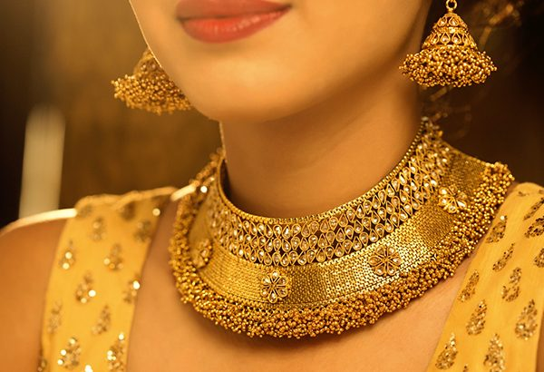 "Gold Jewellery- ""A Fashion Statement"" 