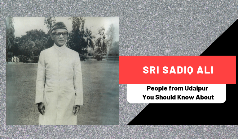 Sri Sadiq Ali | People from Udaipur You Should Know About