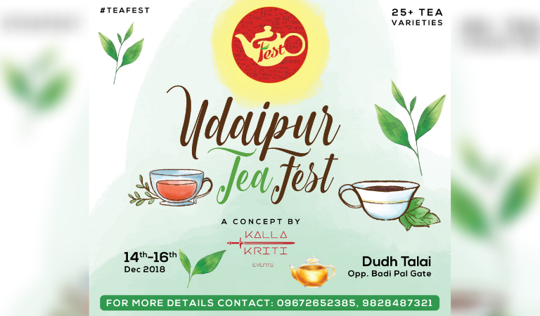 The Second Edition of Udaipur Tea Festival is Here!