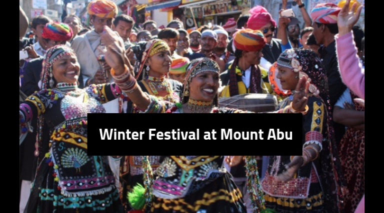 winter festival at Mount abu