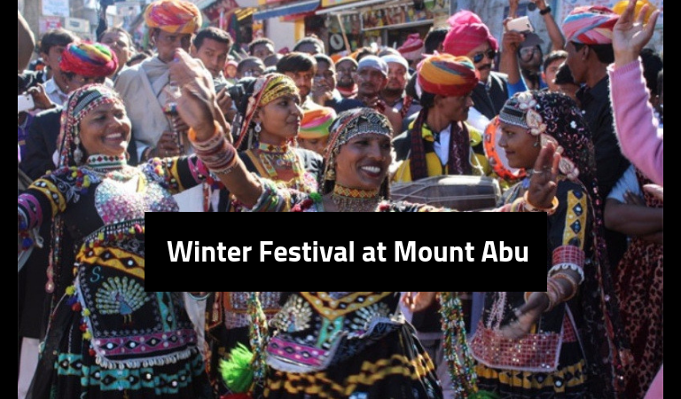 Celebrate winters in the land of sand- Winter Festival at Mount Abu!