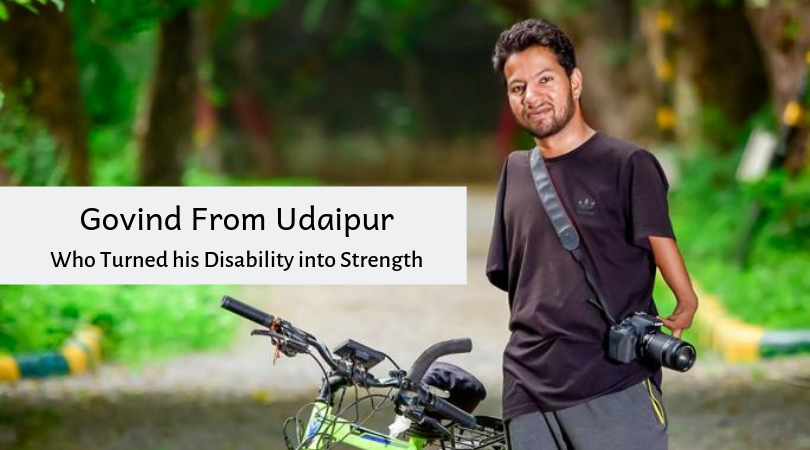 Govind From Udaipur who Turned his Disability into Strength