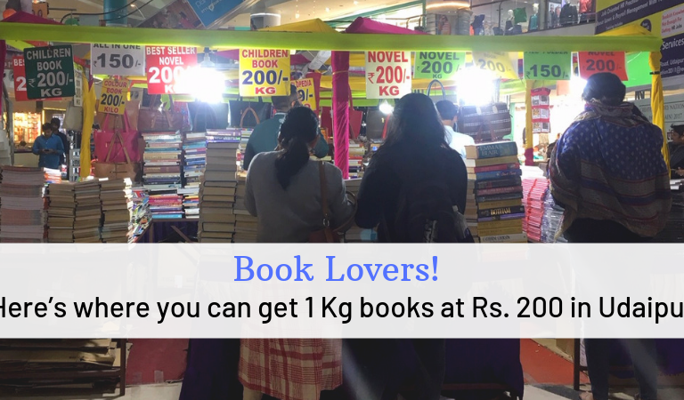 Book Lovers! Here's where you can get 1 Kg books at Rs. 200 in Udaipur