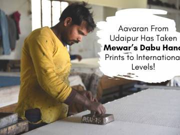 Aavaran' From Udaipur Has Taken Mewar's Dabu Hand Prints to International Levels!