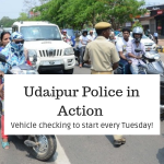 Udaipur Police in Action