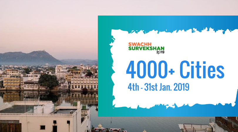 Swachh Sarvekshan 2019- Will Udaipur be able to make it to top 50 this year?