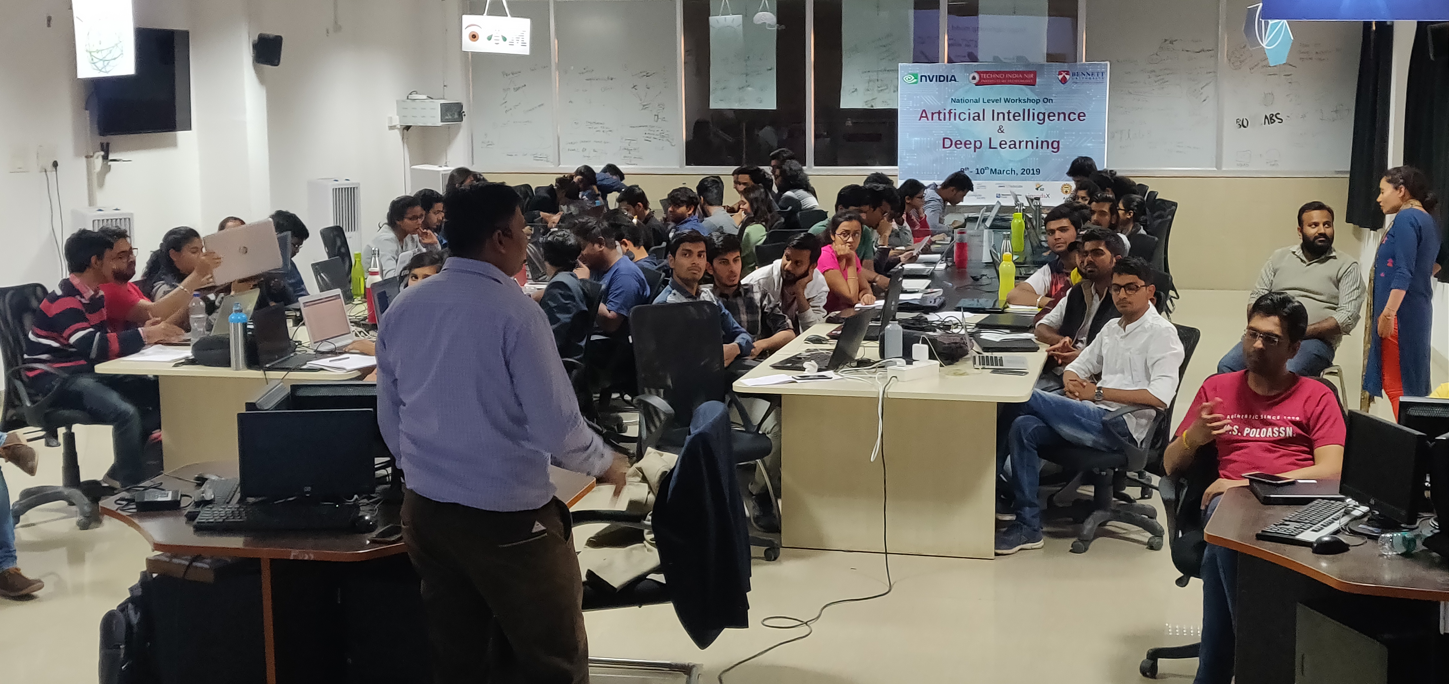 Techno India NJR Conducts 3 days National Level Workshop on AI & Deep Learning in collaboration with NVIDIA