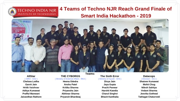 Techno India NJR is Proud to Hold World's Largest Hackathon for the 3rd Time
