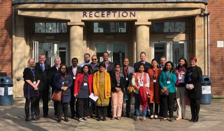 Techno India NJR's Principal visits UK for Education Leadership Development Programme