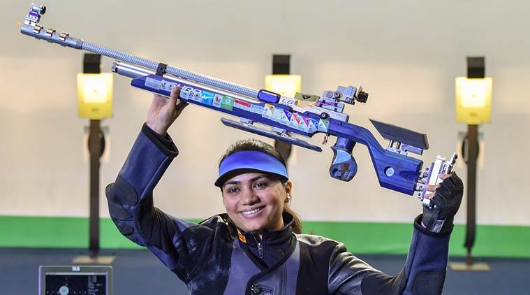 Apurvi Chandela wins gold at ISSF World Cup 2019