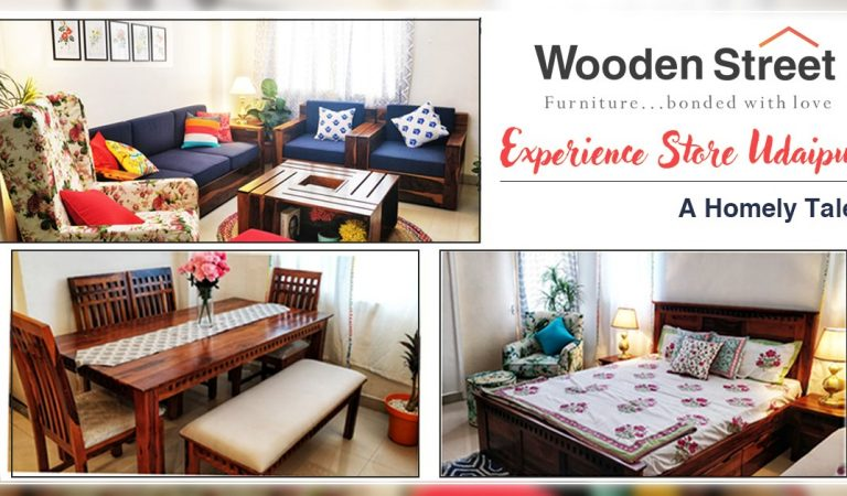 Wooden Street Brings a Homely Tale in The Venice of East – Udaipur with an Experience Store