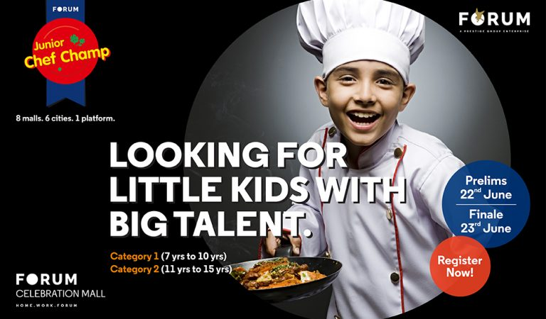 Attention Junior Chefs, time to show off your cooking skills!
