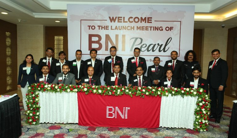 BNI Udaipur's 3rd and BNI India's 604th Chapter – BNI PEARL Launched