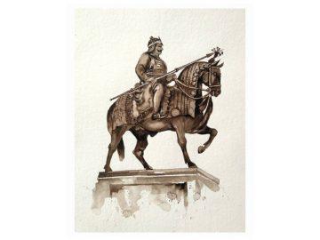 history cover // Maharana Pratap Portrait