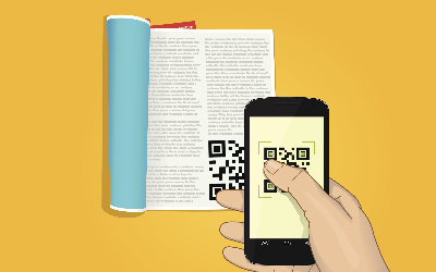 QR Codes in Textbook