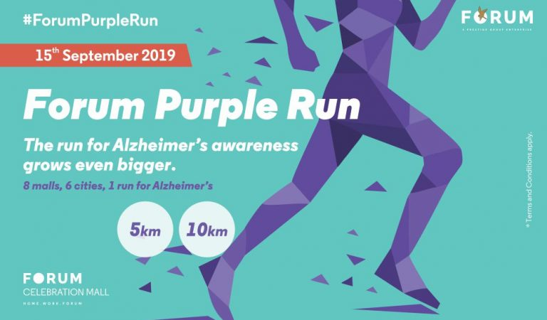 Join FORUM PURPLE RUN 2019: India's first-ever run for Alzheimer's awareness
