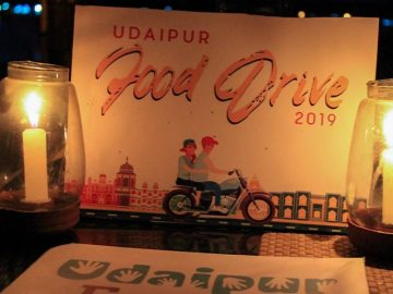 Udaipur Blog Food Drive 2019