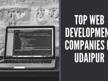 top web development companies in udaipur