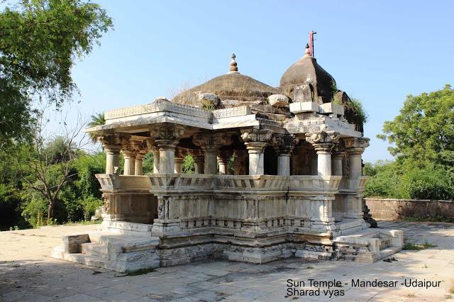 उदयपुर का 'कोणार्क' : 9वी शताब्दी पुराने सूर्य मंदिर की कहानी