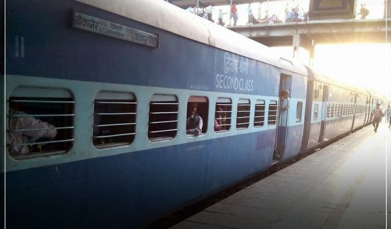 Special Weekly Train from Udaipur to Bikaner.