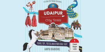Udaipur City Trails Book