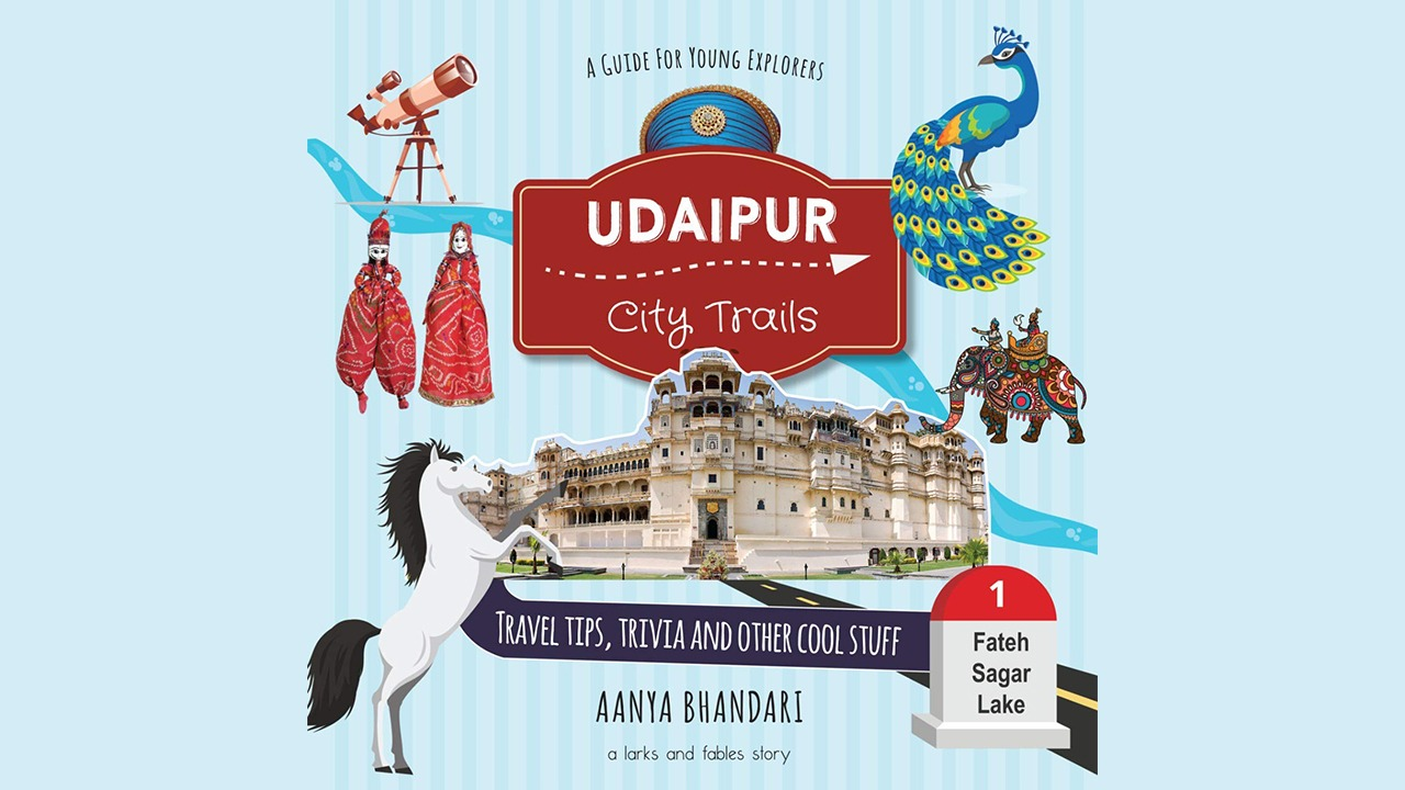 Udaipur City Trails Book