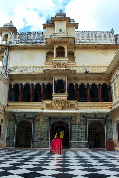 Royal place of Udaipur