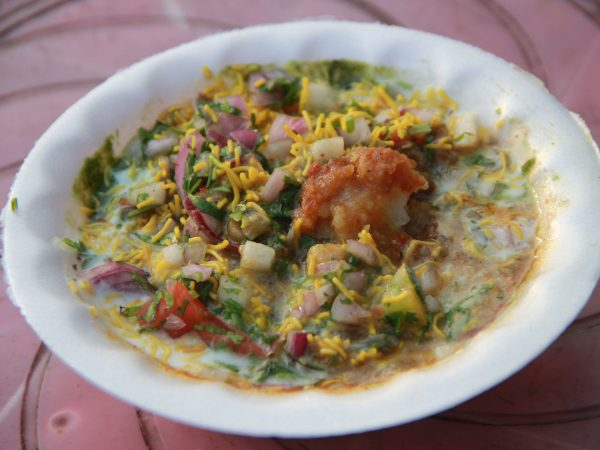 Aloo Tikki Chaat in Udaipur