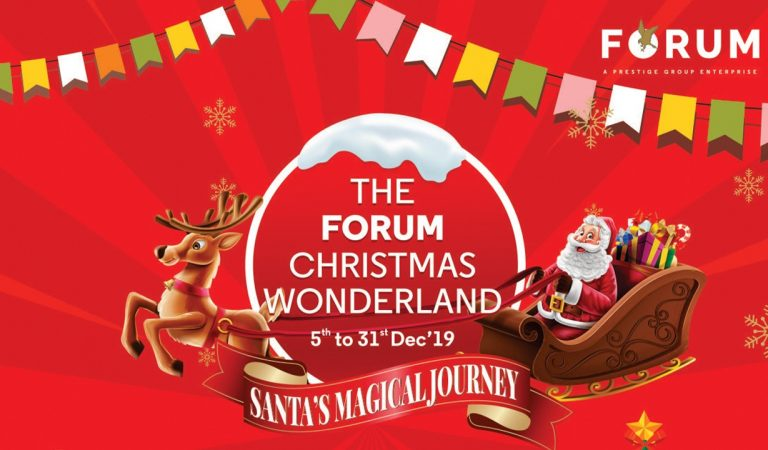Best Christmas Offers with Amazing Decoration at Forum Celebration