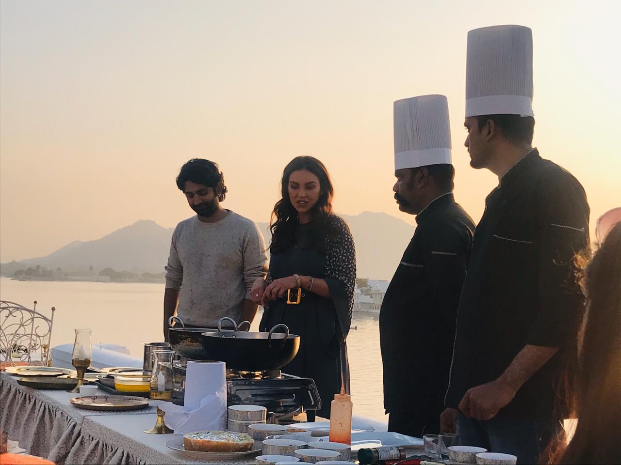 Sarah Todd at Jagat Niwas Udaipur
