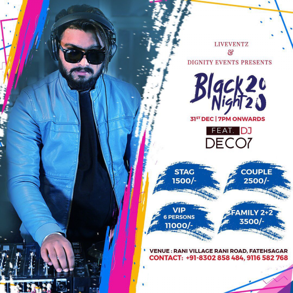black night out udaipur