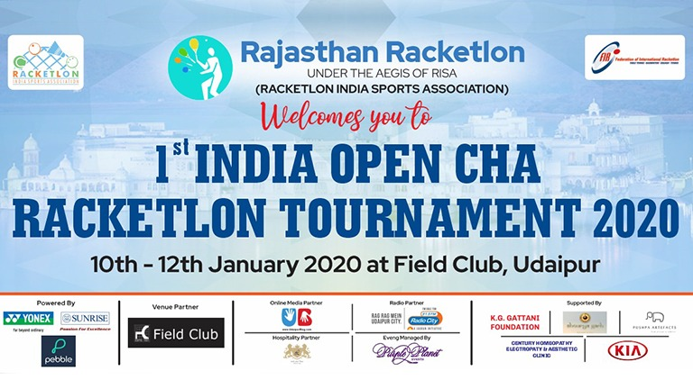 Racketlon in Udaipur