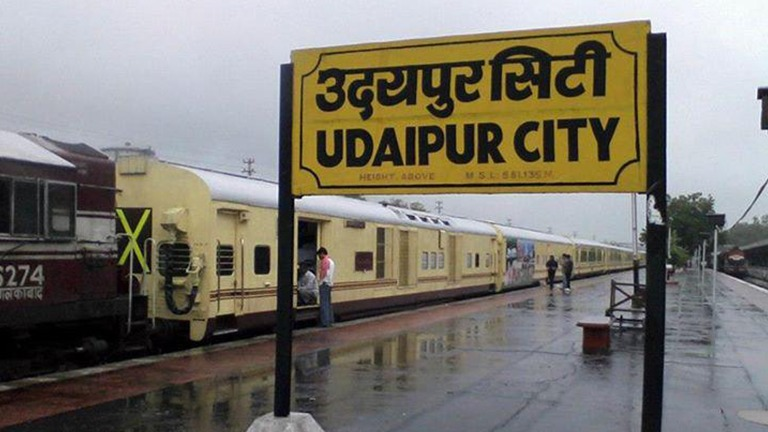 India's most advanced Electronic Interlocking System installed at Udaipur City Railway Station