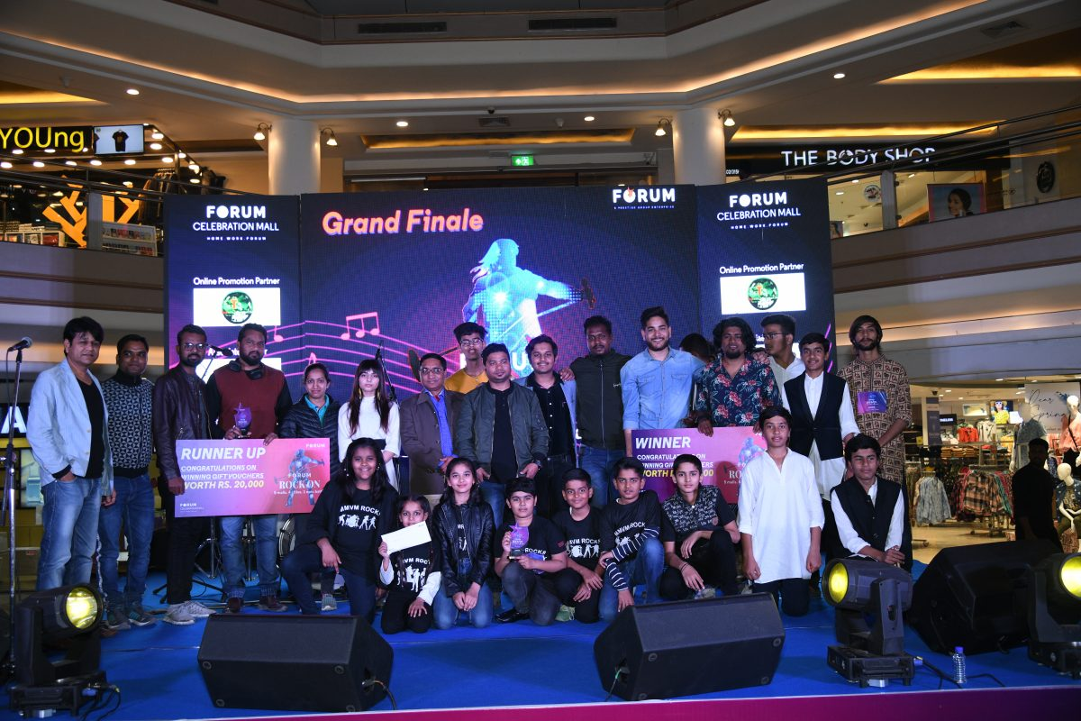 Udaipur Bands put up electrifying performances at Forum Rock ON
