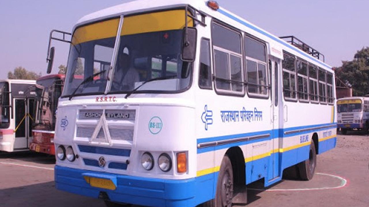 Rajasthan Roadways Buses