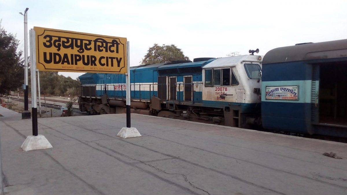 Jaipur-Udaipur-Ahmedabad rail route identified as high-speed corridor