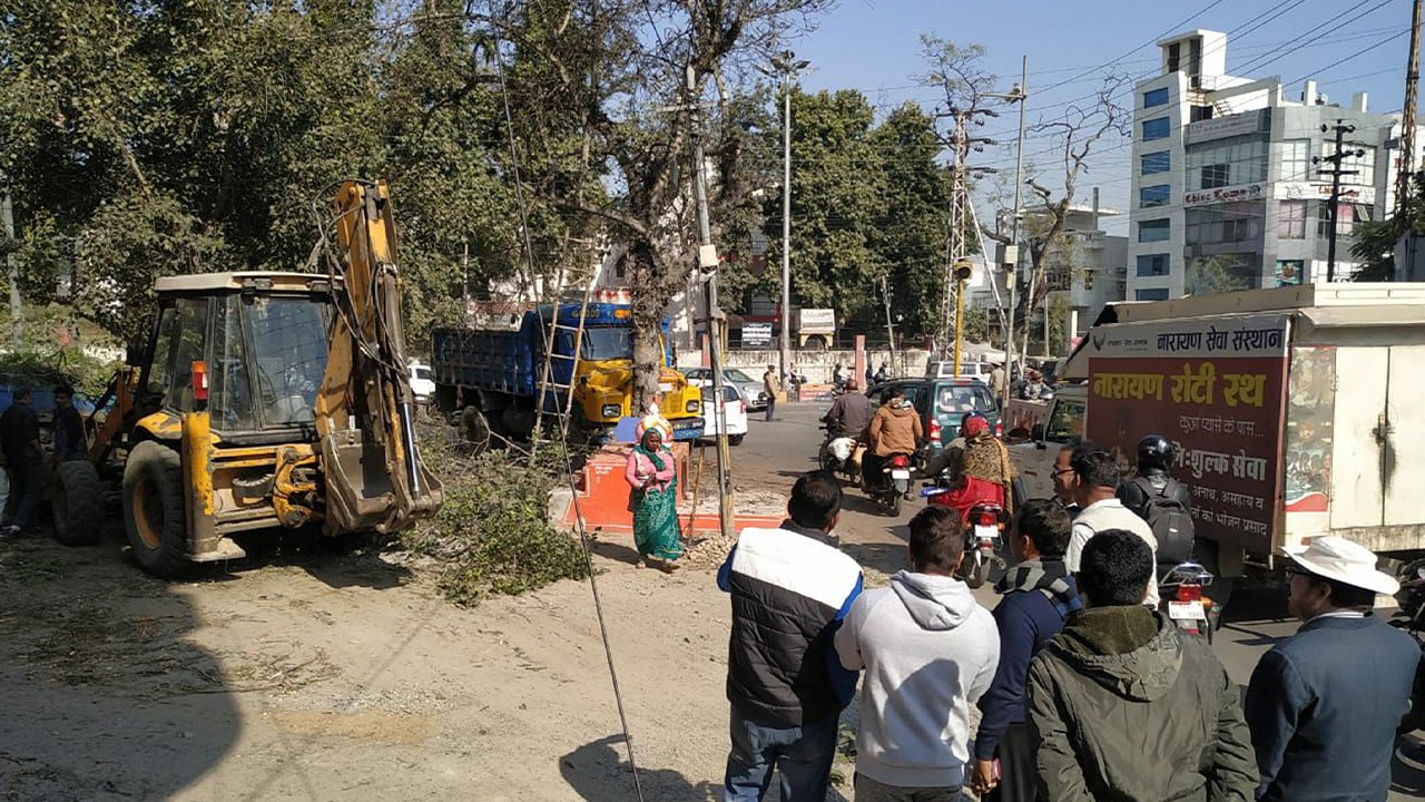 Udaipur Enchroachment Removal Plan