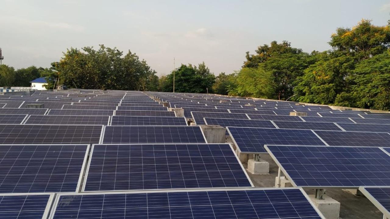 Udaipur Railway Station Solar Plant